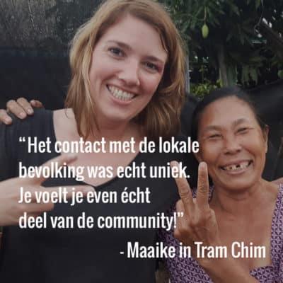 2. Maaike in Tram Chim