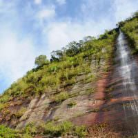 22874760 - indonesia countryside on the west sumatra island near bukittinggi city resort  waterfall in the harau valley