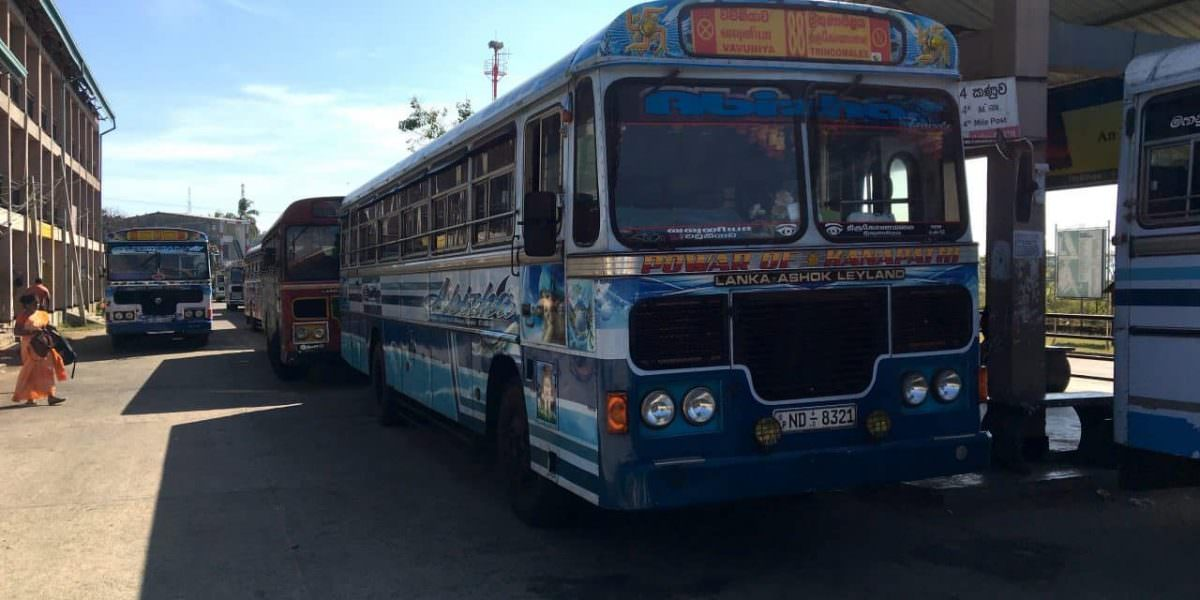 Bus in Sri Lanka 1