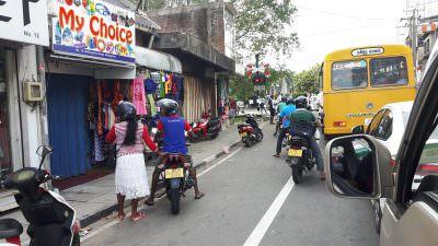 Vervoer in Sri Lanka