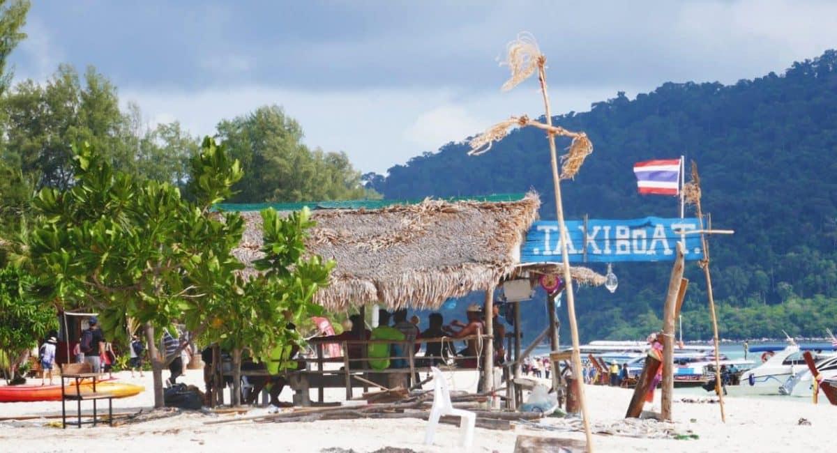 Reis naar thailand