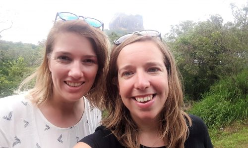 Sri Lanka, Maaike en Marieke