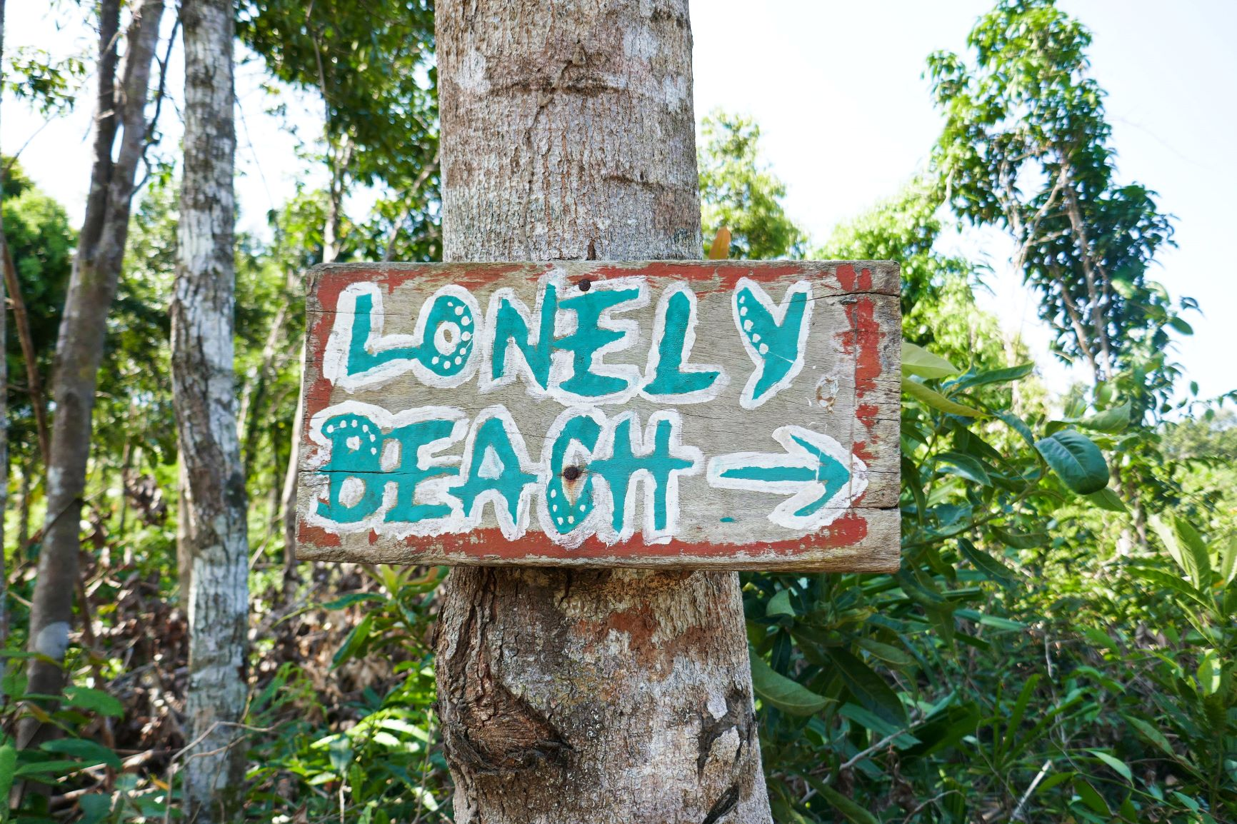 Bordje Lonely beach