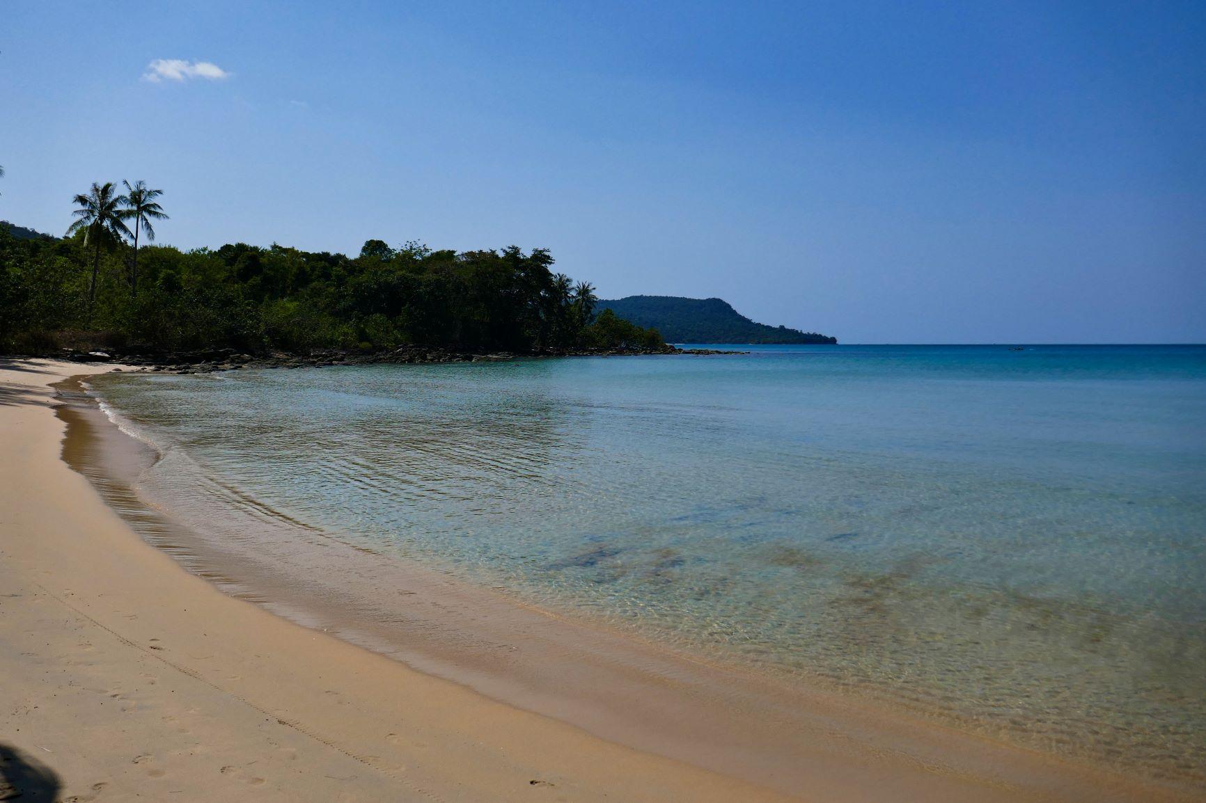 Koh Rong strand